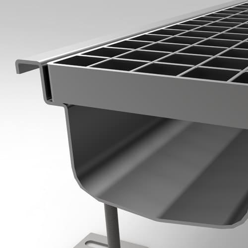 Canalina con griglia M100R